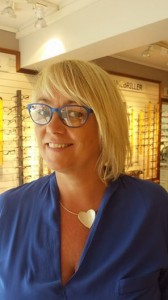 Sandra i briller fra Ørgreen